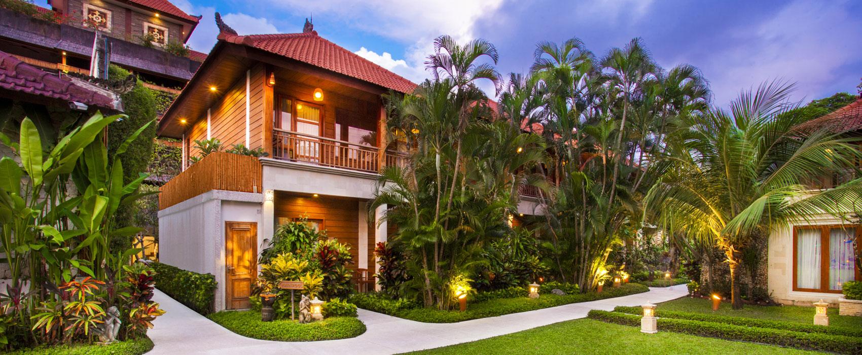 Two Bedroom Garden Villa Astagina Resort Villa Spa Legian Bali